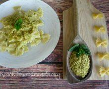 Pasta alla crema di zucchine e pistacchi