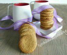 Biscotti integrali, rustici